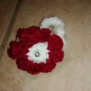 Accessories - Homemade crochet bows